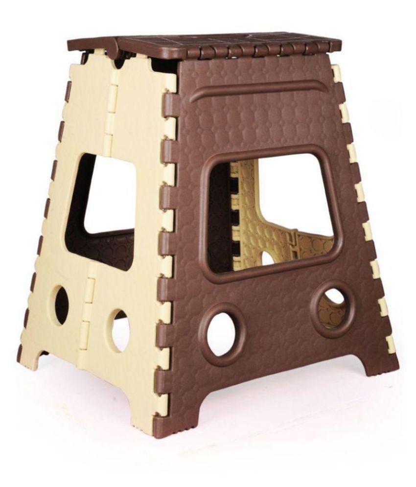 Fine Welldecor Portable Folding Plastic Step Stool 18 Inch Color May Vary Creativecarmelina Interior Chair Design Creativecarmelinacom