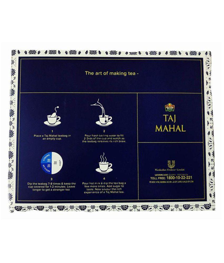 Brooke Bond Assam Tea Bags Taj Mahal Tea Blend 200 no s Pack of 2