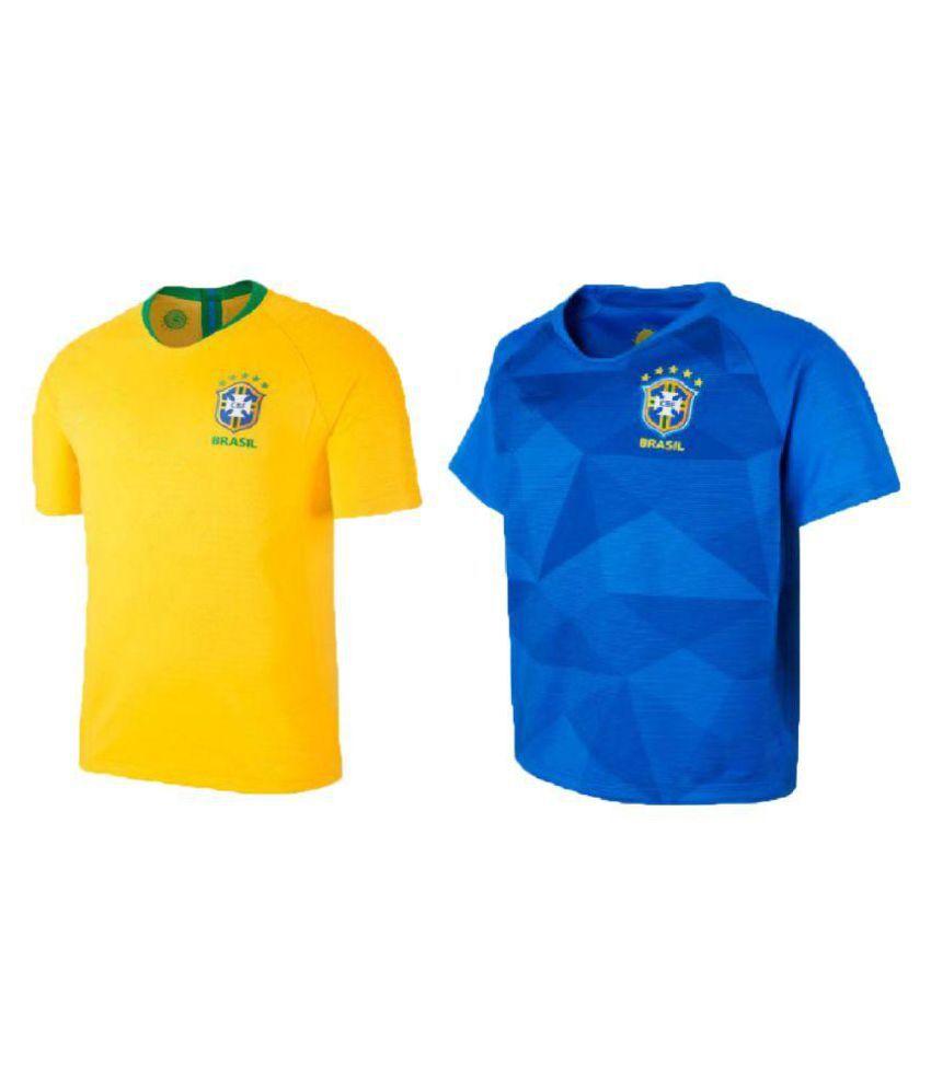 Uniq Products Multi Half Sleeve T-Shirt Pack of 2