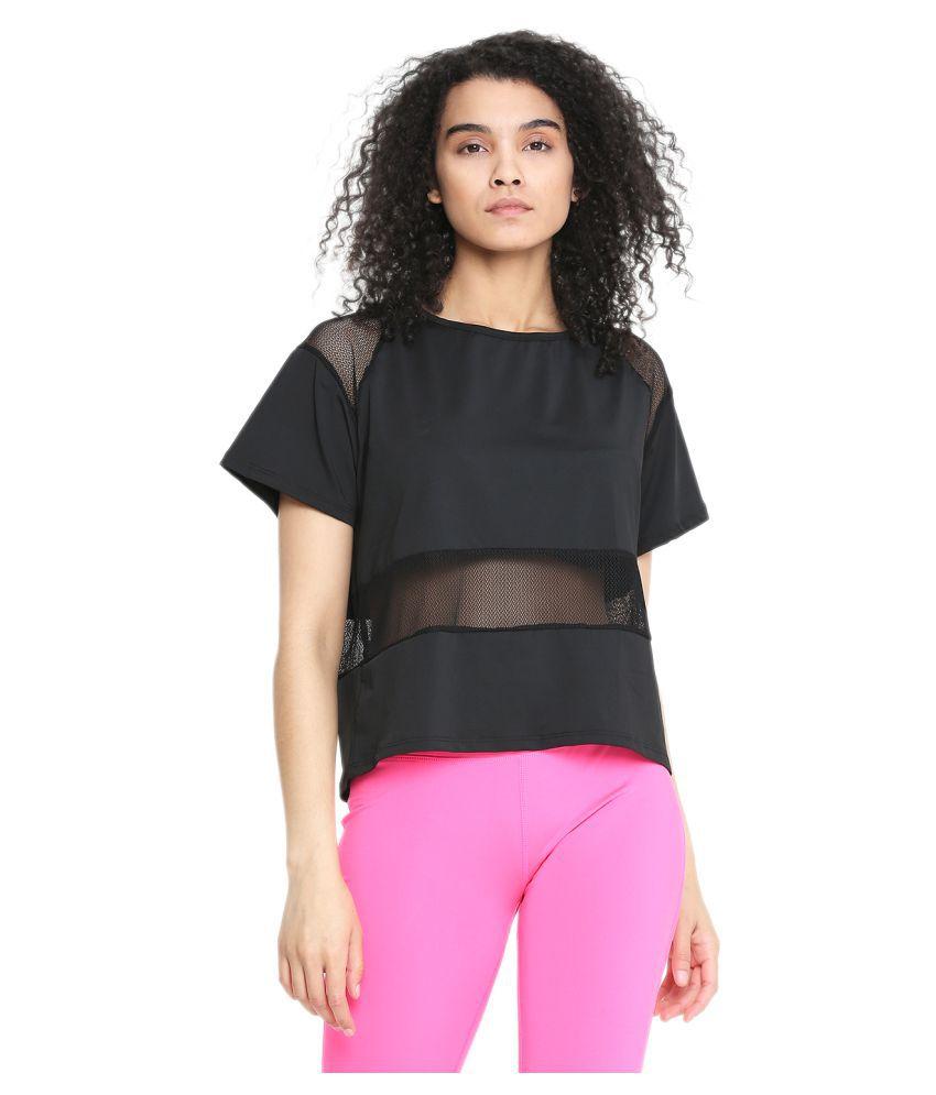 CHKOKKO Half Sleeve Gym Yoga Sports Wear Mesh Crop Top for Women Gym Wear Women/Tight Women/Yoga Dress