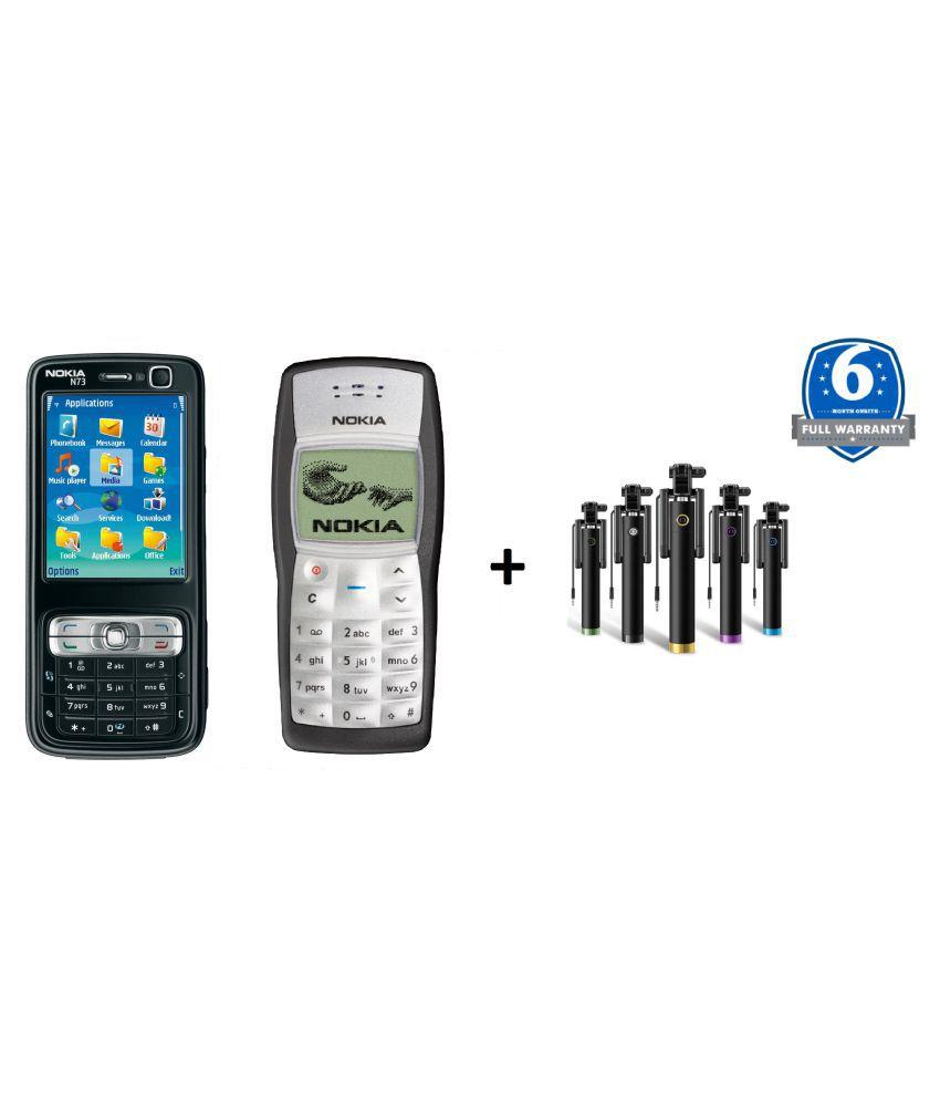 Refurbished Buy Nokia N73 Get 1100 & Selfie Stick