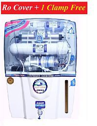 DEAL AQUAGRAND AUDI 15 Ltr ROUVUF + Mineral Cartridge Water Purifier- ALL FEATURES_ RO COVER & 1 CLAMP FREE