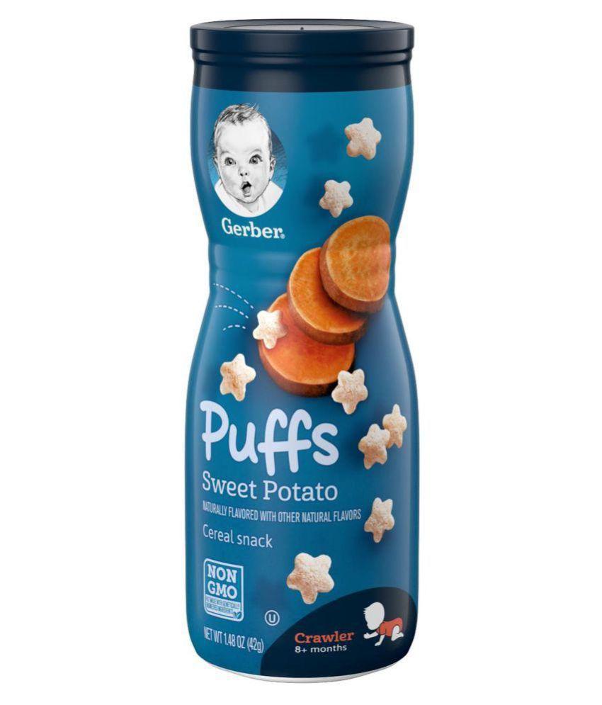 Gerber Sweet Potato Snack Foods for 6 Months + ( 42 gm )