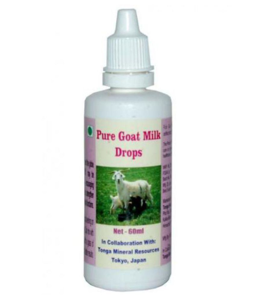 Tonga Herbs Pure Goat Milk Drops 60 ml Minerals Syrup