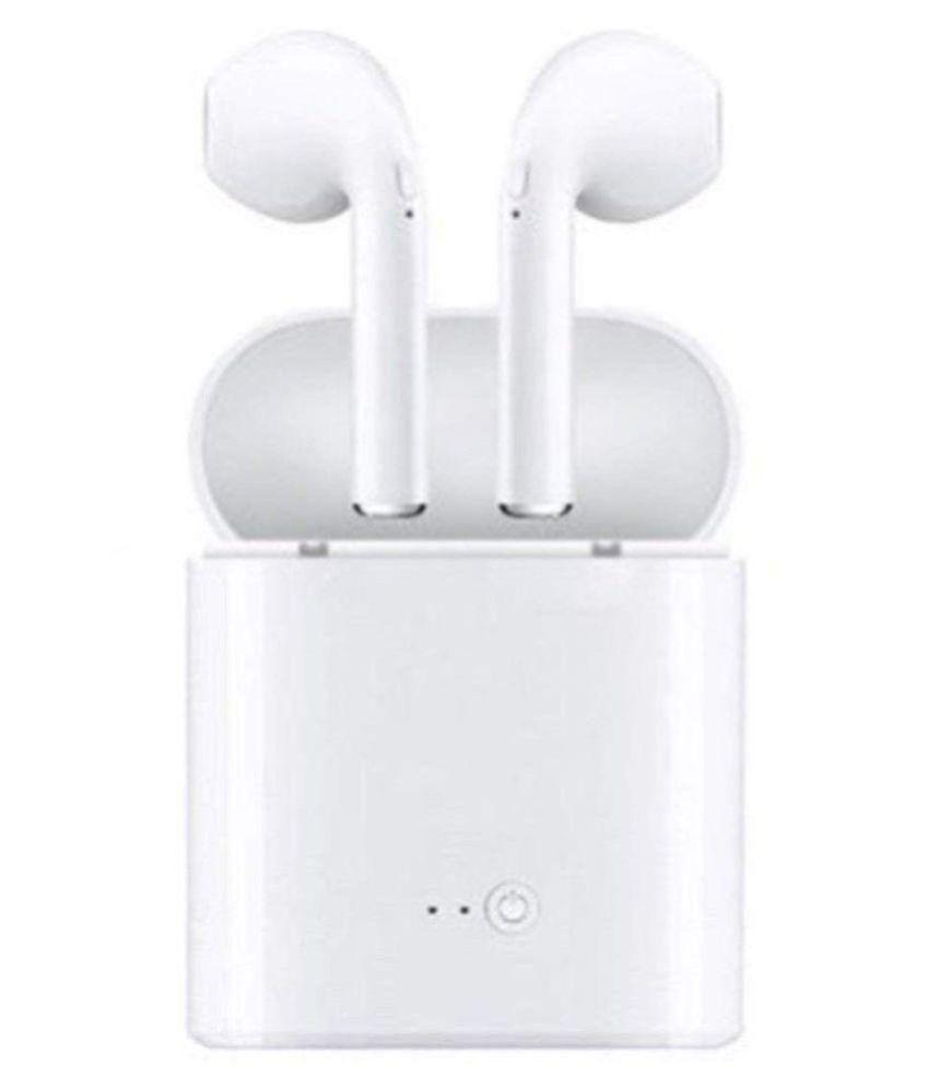 81633cb7ec0 MicroBirdss I7 In Ear Wireless Earphones With Mic Earpod, Ear pod - Buy  MicroBirdss I7 In Ear Wireless Earphones With Mic Earpod, Ear pod Online at  Best ...