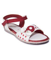 8c500c66faf5 Quick View. Khadim s Girls Maroon Casual Flat Sandal