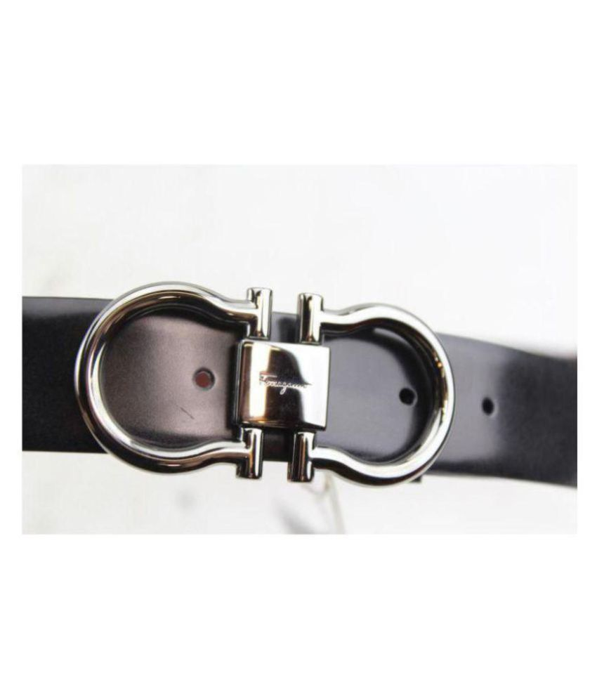 0b02ab61d7f WOODLAND IMPORTS LEATHER Black Leather Party Belt - Pack of 1  Buy ...