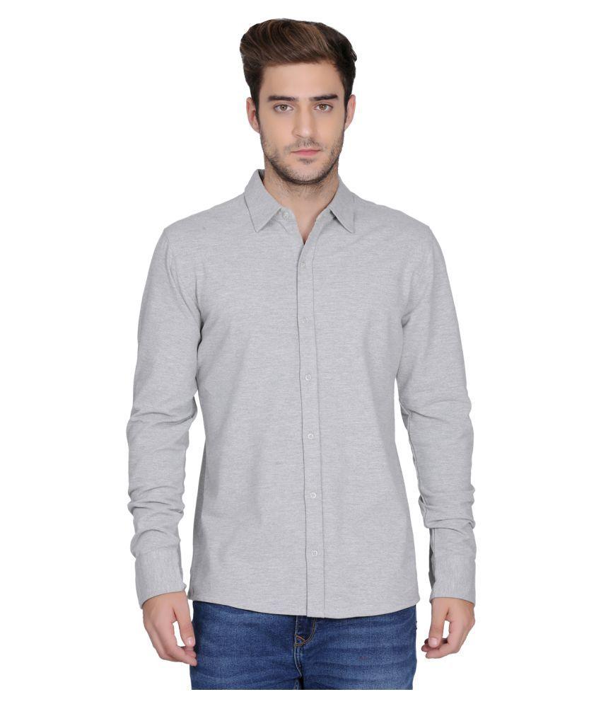 DRAG Cotton Blend Shirt