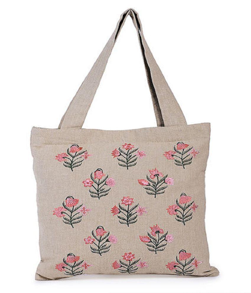 INIHOM Multi Cotton Tote Bag