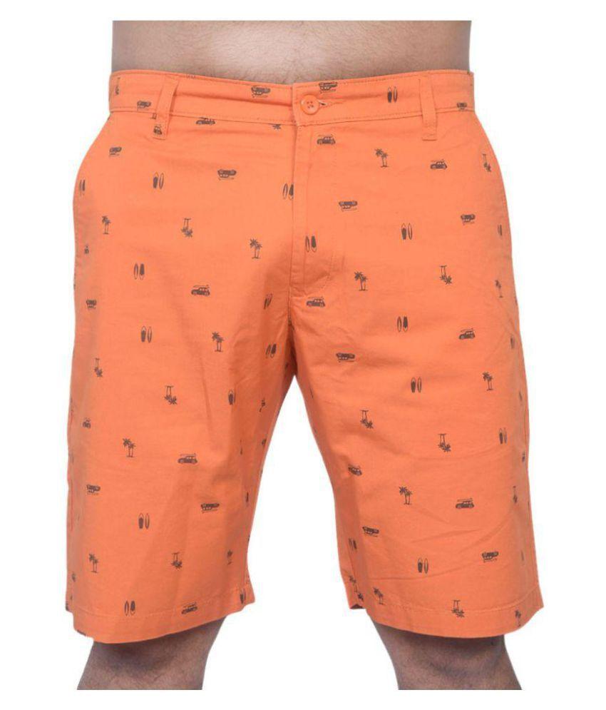 SHORTEASE Orange 3/4ths