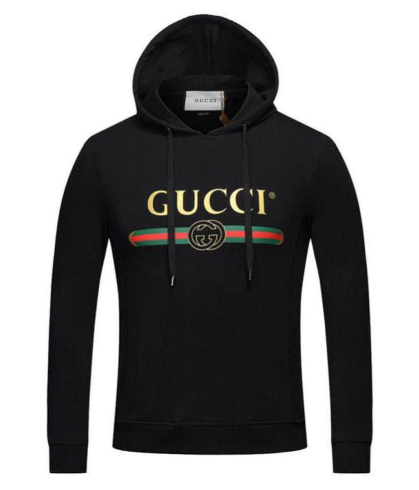 ba612db9a4d Gucci Black Sweatshirt - Buy Gucci Black Sweatshirt Online at Low Price in  India - Snapdeal