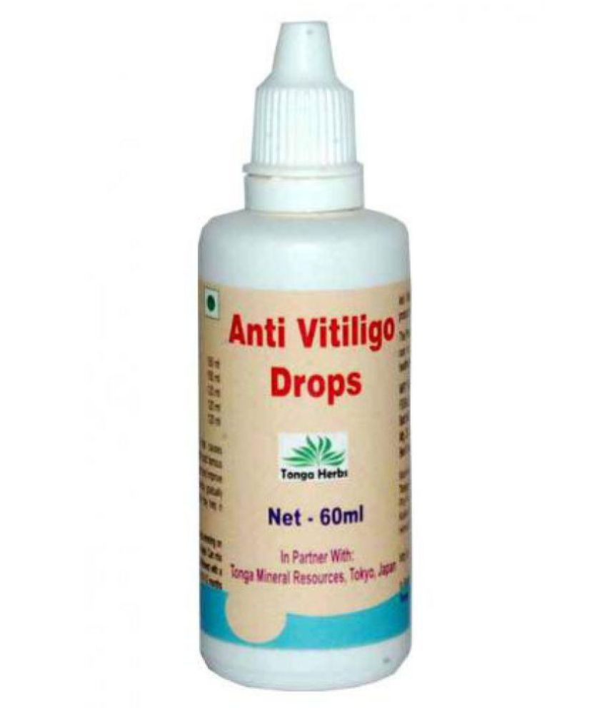 Tonga Herbs Anti  Vitiligo Drops 60 ml Minerals Syrup