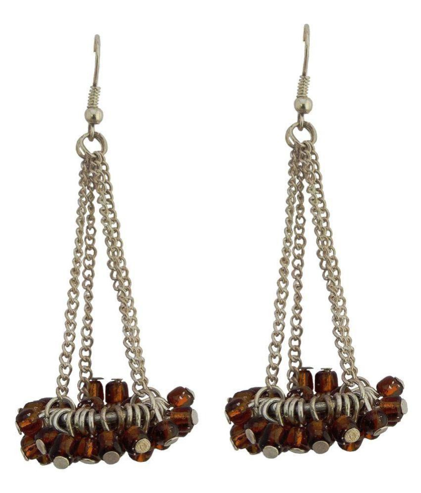Hand made earrings for girls stylish party wear