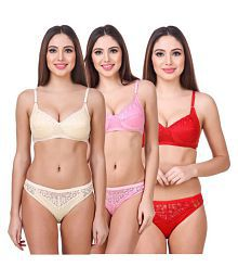 f7b44f2f12 Bra   Panty Sets  Buy Bra   Panty Sets Online at Best Prices in ...