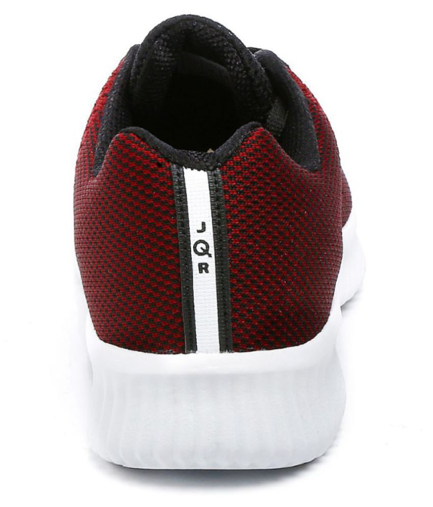 JQR Red Running Shoes - Buy JQR Red