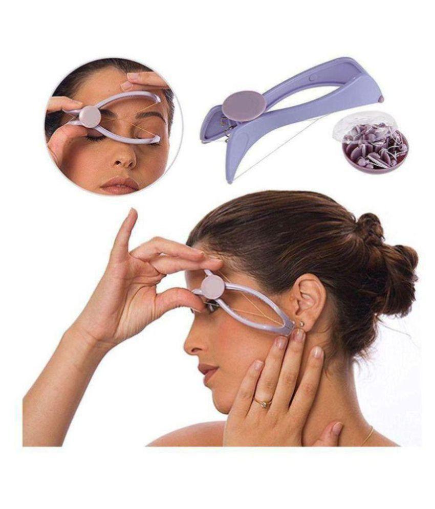 Mobile Addaa Silique Slique Face Eyebrow Kit Plastic Angled Tweezer