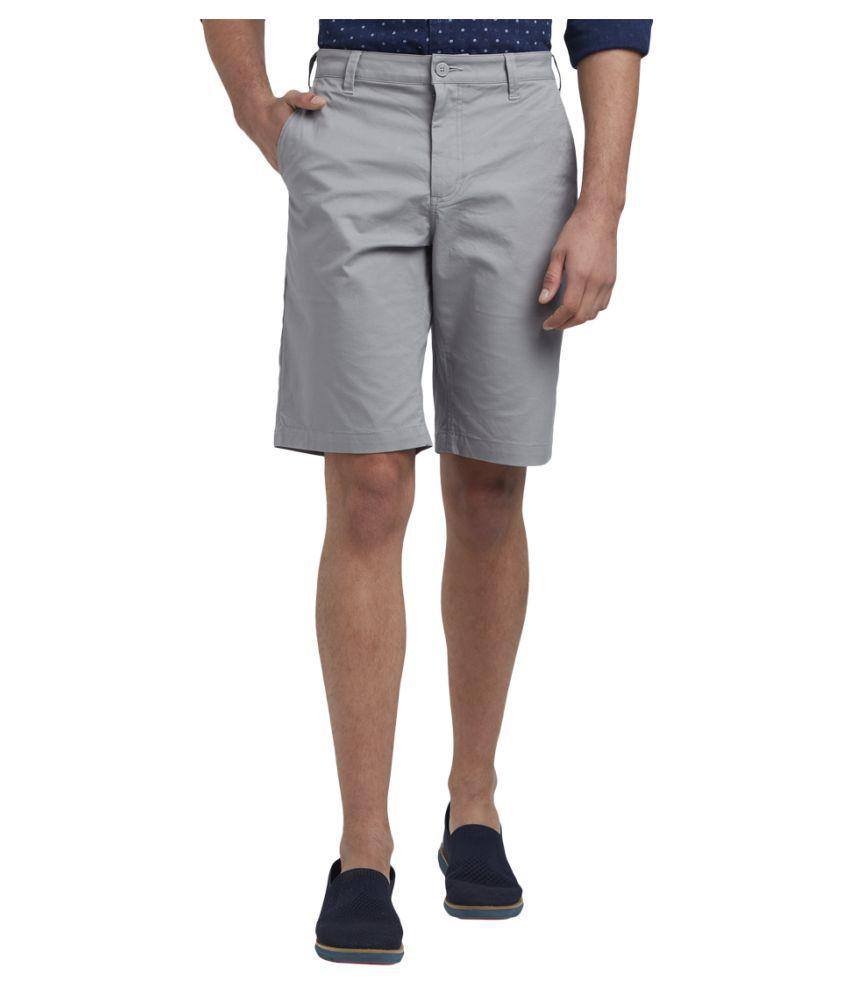 Parx Grey Shorts