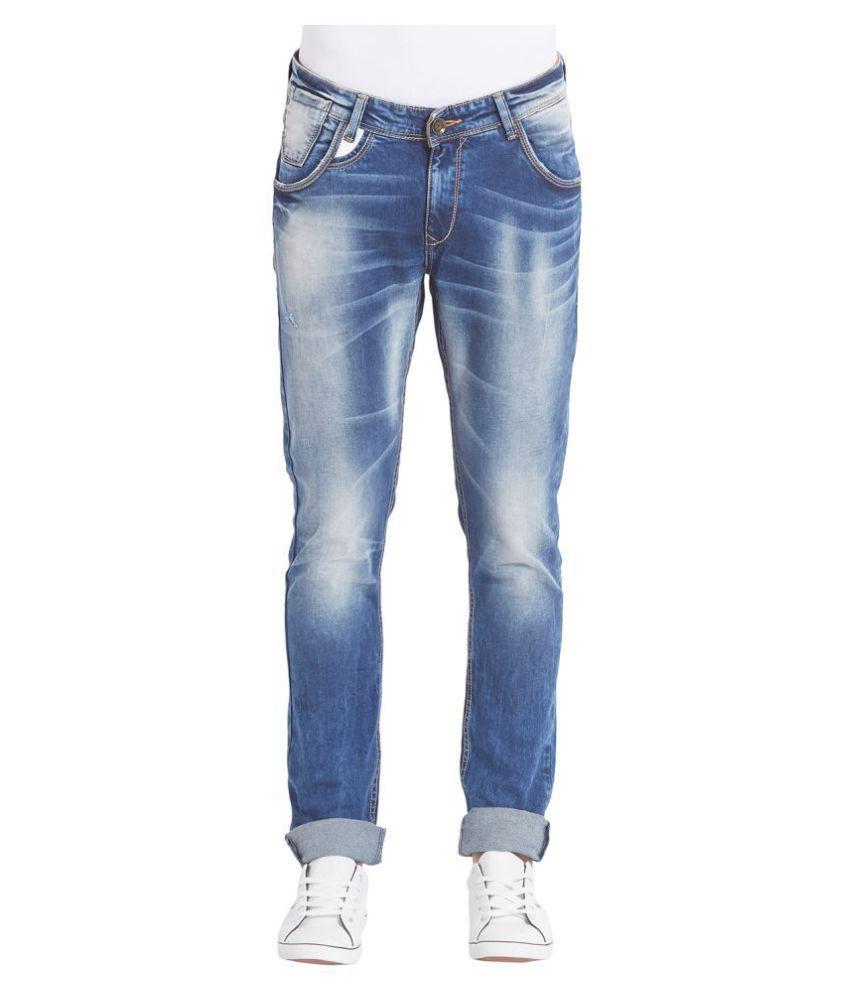 Spykar Light Blue Skinny Jeans