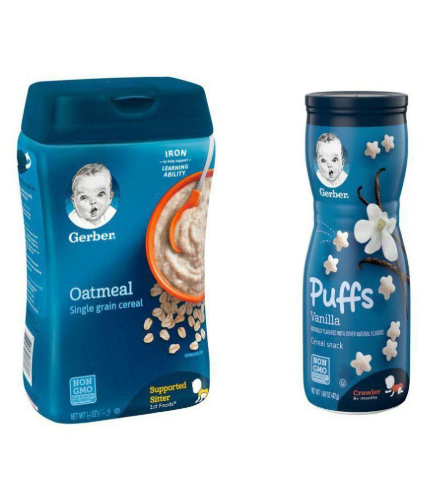 Gerber Baby Food OATMEAL Infant Cereal For 6 Months