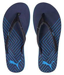 Puma Blue Thong Flip Flop