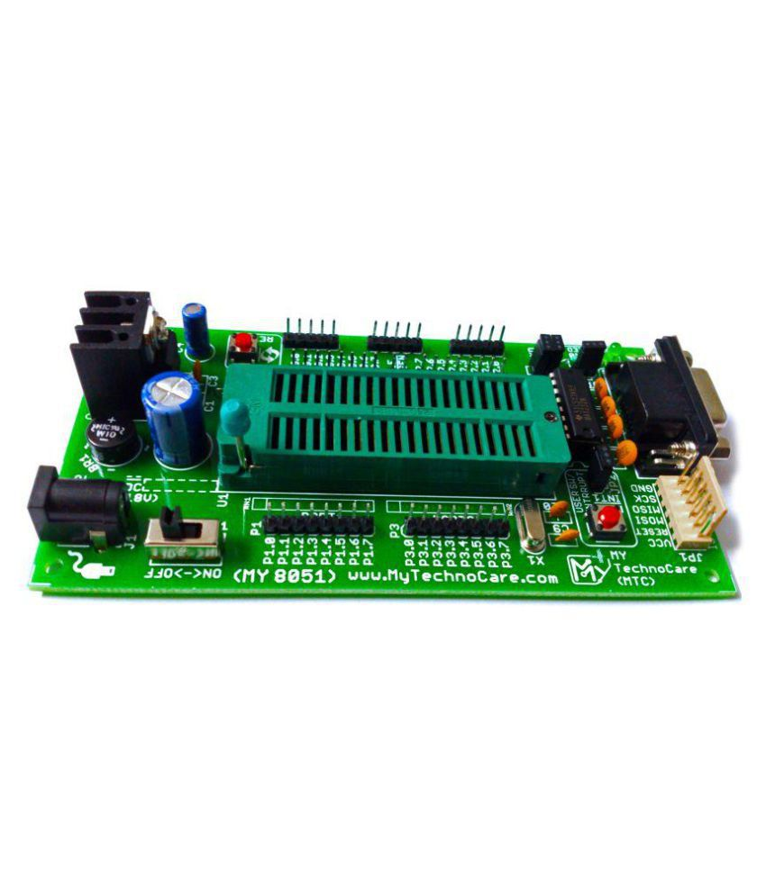 Db9 Connector Line Driver Circuit 8051 Final Circuit Of Programmer Kit