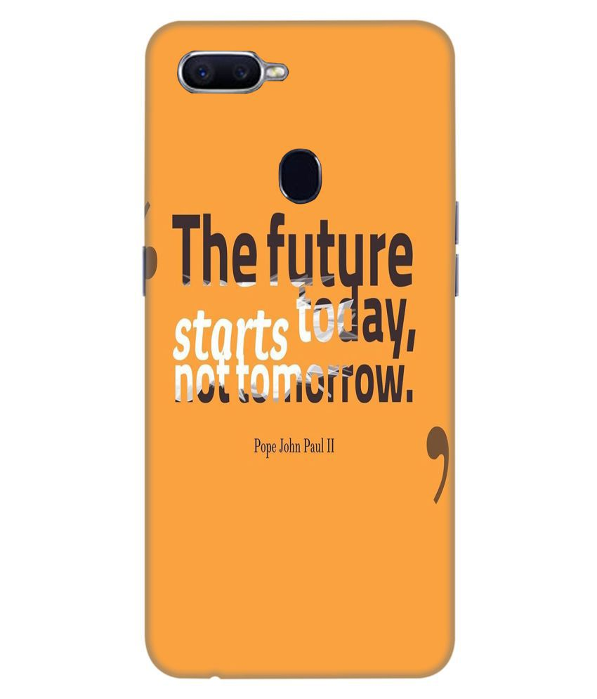 Oppo F9 3D Back Covers By Crockroz 30 D Designs