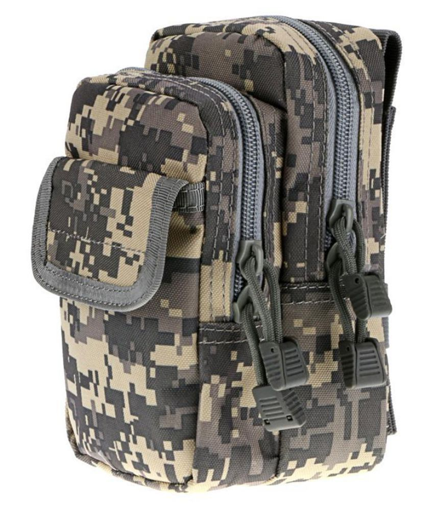 Outdoor Tactical Military Nylon EDC Molle Waist Bag Sundries Pouch Fanny Pack