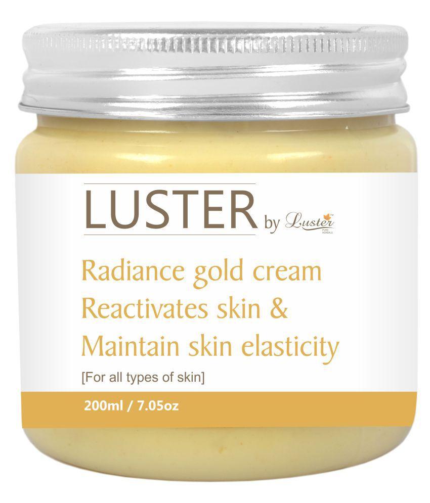 Luster Radiance Gold - Massage Night Cream 200 ml