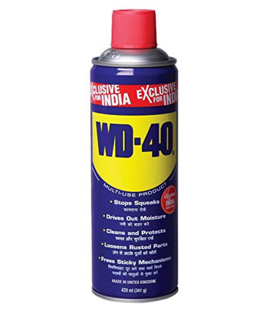 WD-40 Anti-rust Lubricant Maintenance Spray for home, work and play, 420 ml