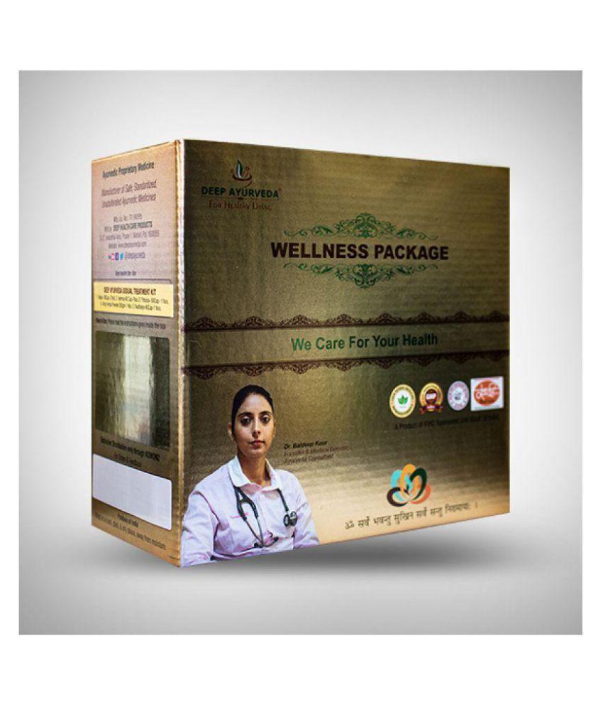 DEEP AYURVEDA- INDIA Asthma Herbal Treatment Capsule 5 no.s Pack Of 1