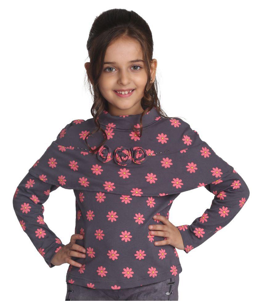 Cutecumber Girls Smart Casual Cotton Top