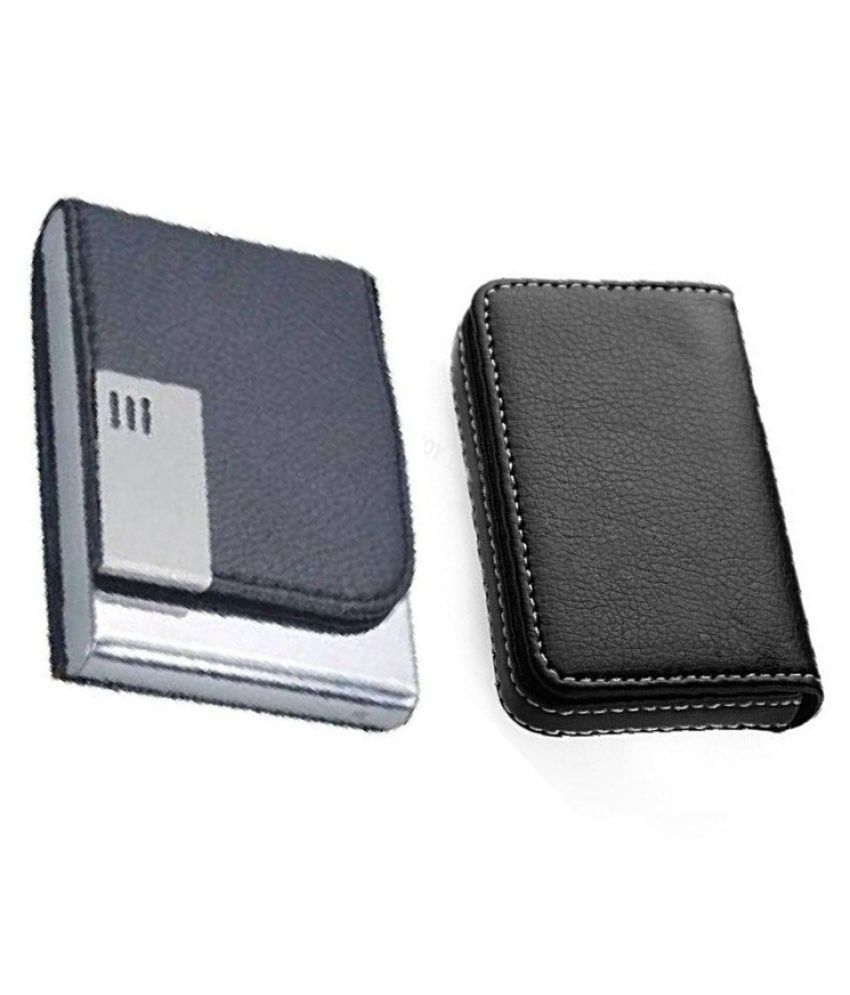 watch 42e05 a5410 Business Credit Card Case, Atm,Visiting Card Holder, Pan Card/ID Card  Holder (Unisex) Genuine Accessory (Pack of 2)