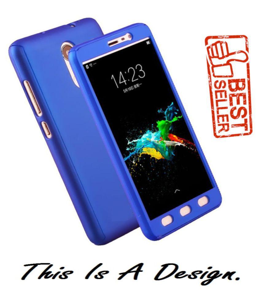 Vivo V9 Pro Plain Cases olook - Blue