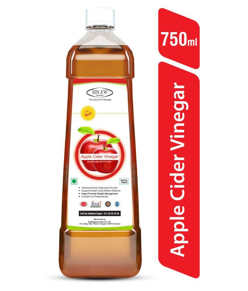 Sinew Nutrition Apple Cider Vinegar Without Mother (Filtered) 750 g