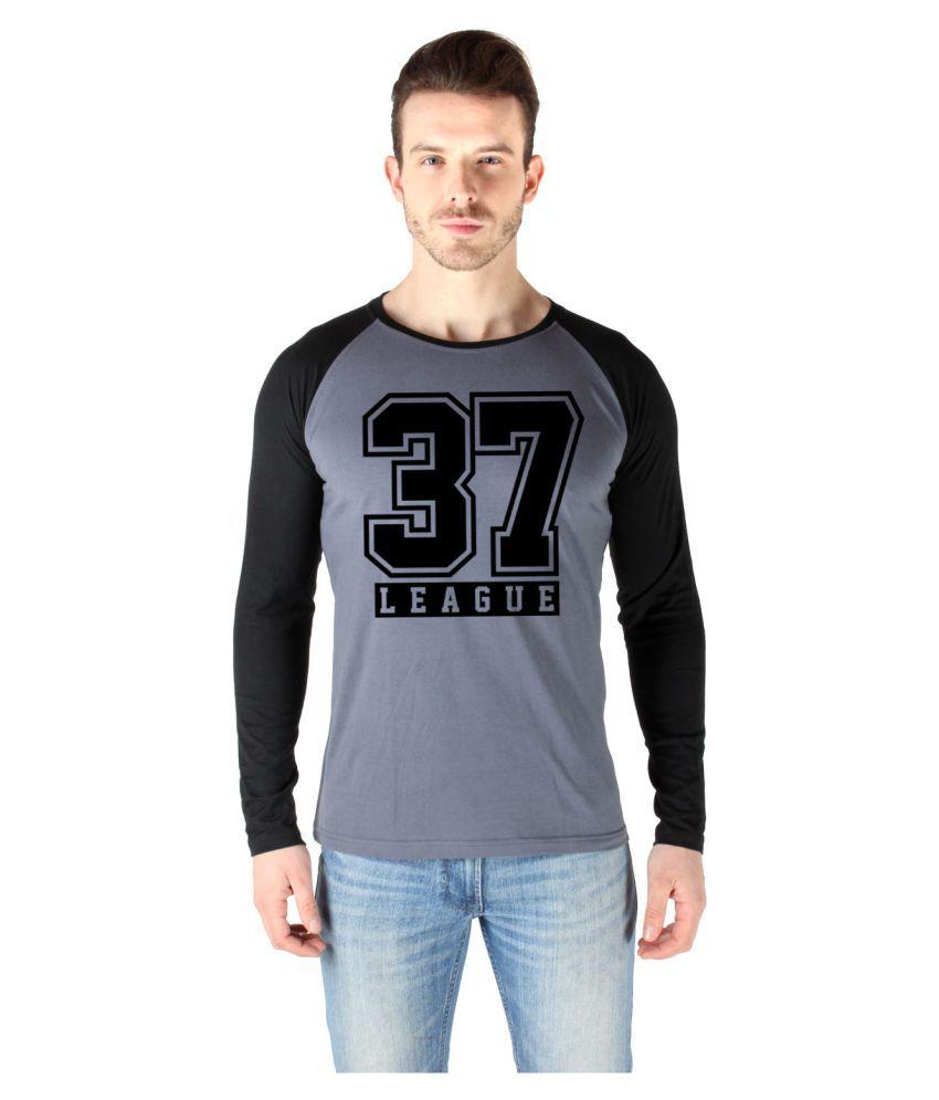 Sayitloud Grey Full Sleeve T-Shirt