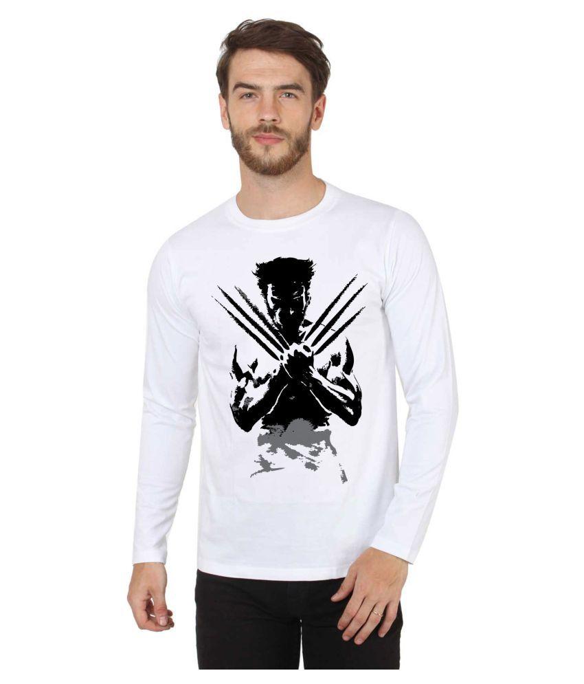 Sayitloud White Full Sleeve T-Shirt