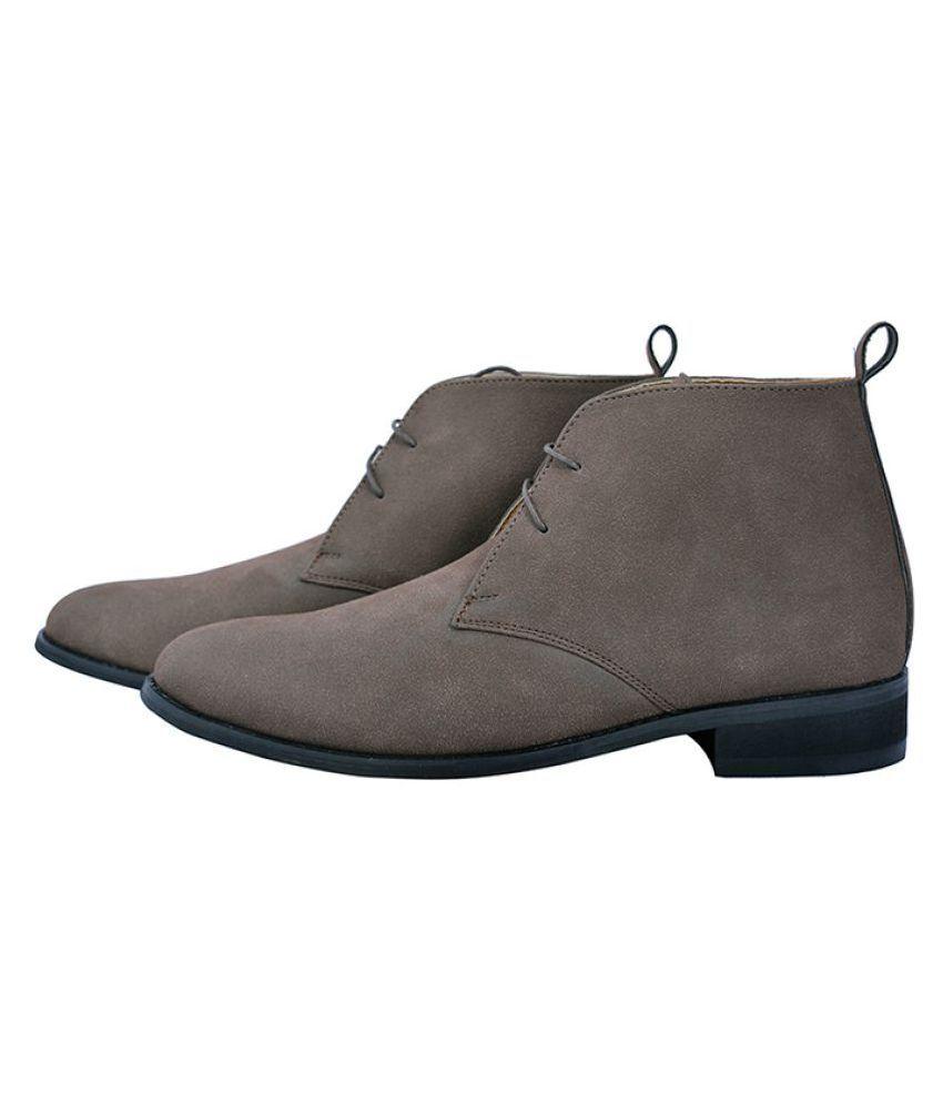Elitous Brown Chukka boot