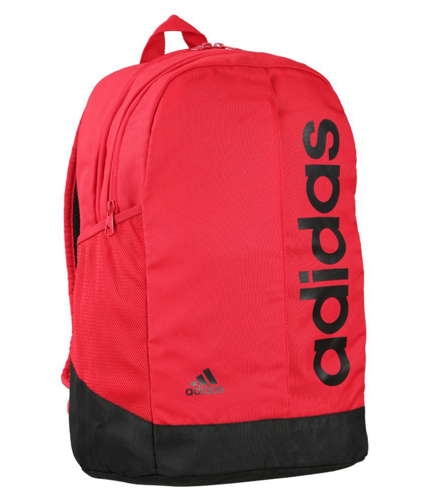 b366e4f6e3 Adidas Red Canvas College Bags Backpacks- 20 Ltrs - Buy Adidas Red Canvas  College Bags Backpacks- 20 Ltrs Online at Low Price - Snapdeal