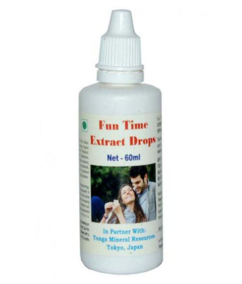 Tonga Herbs Fun Time Extract Drops 60 ml Minerals Syrup