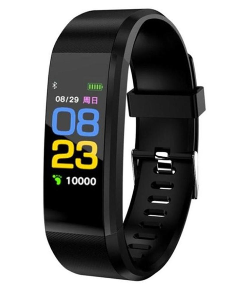 OPTA SB-089 Bluetooth Fitness Band Smart Watch for Android, iOS Devices(Black)