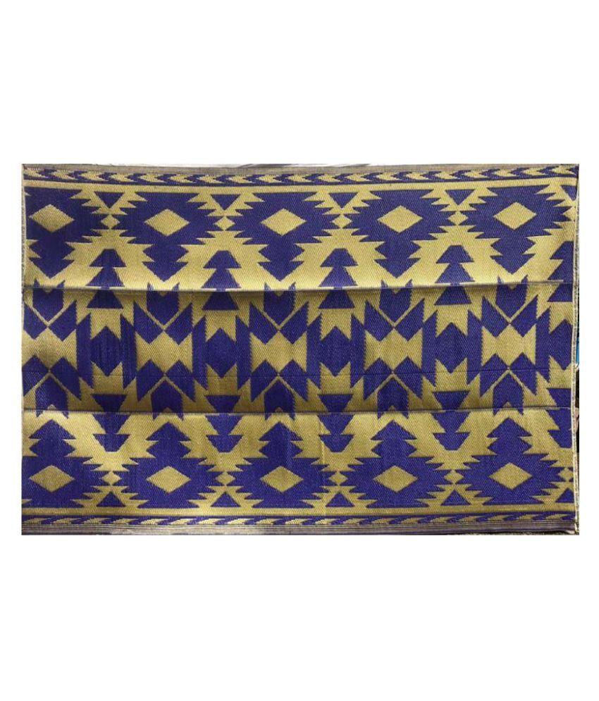 karanja Blue Single Anti-skid Floor Mat