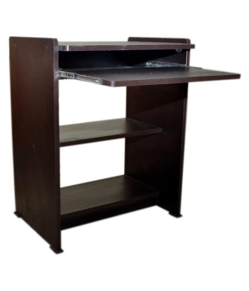 Mezonite Engineered wood Office-Computer-Study Table - Brown