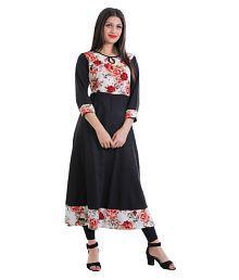 50a3af13c Black Kurtis  Buy Black Kurtis Online at Best Prices in India on ...