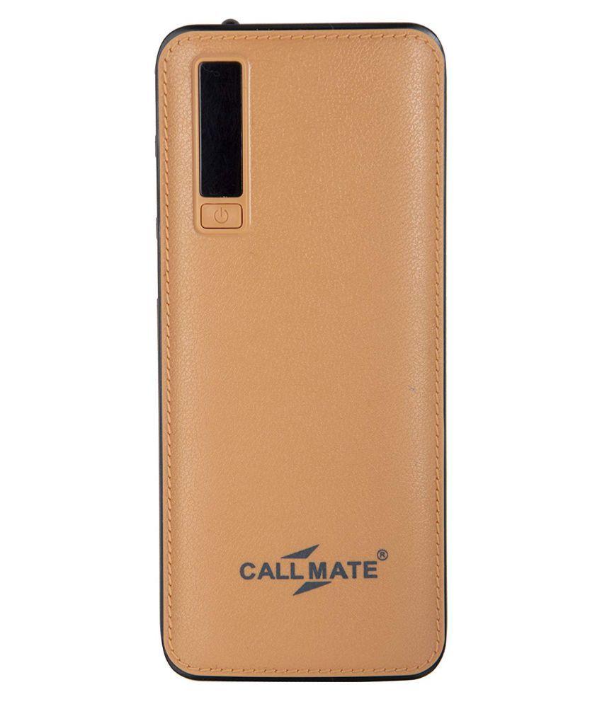 edd6436f5e Callmate CL612 15000 -mAh Li-Ion Power Bank Black   Gold - Power Banks  Online at Low Prices