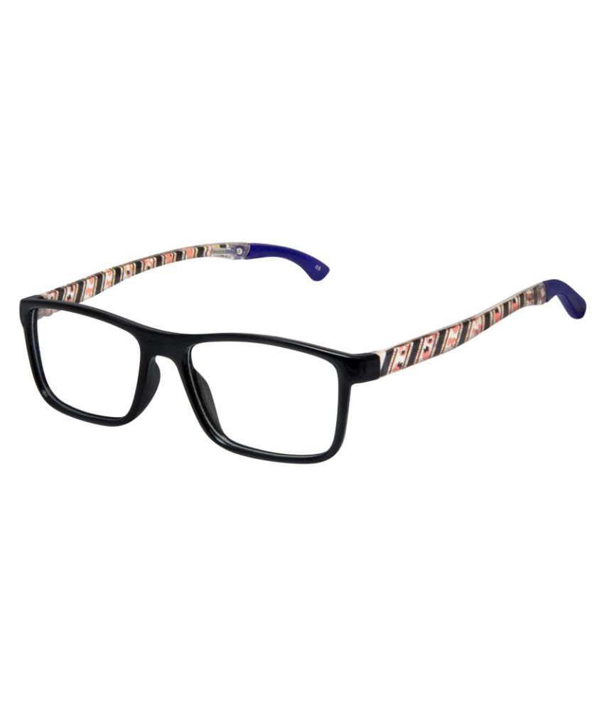 Cardon Black Rectangular Full Rim Kids EyeFrame