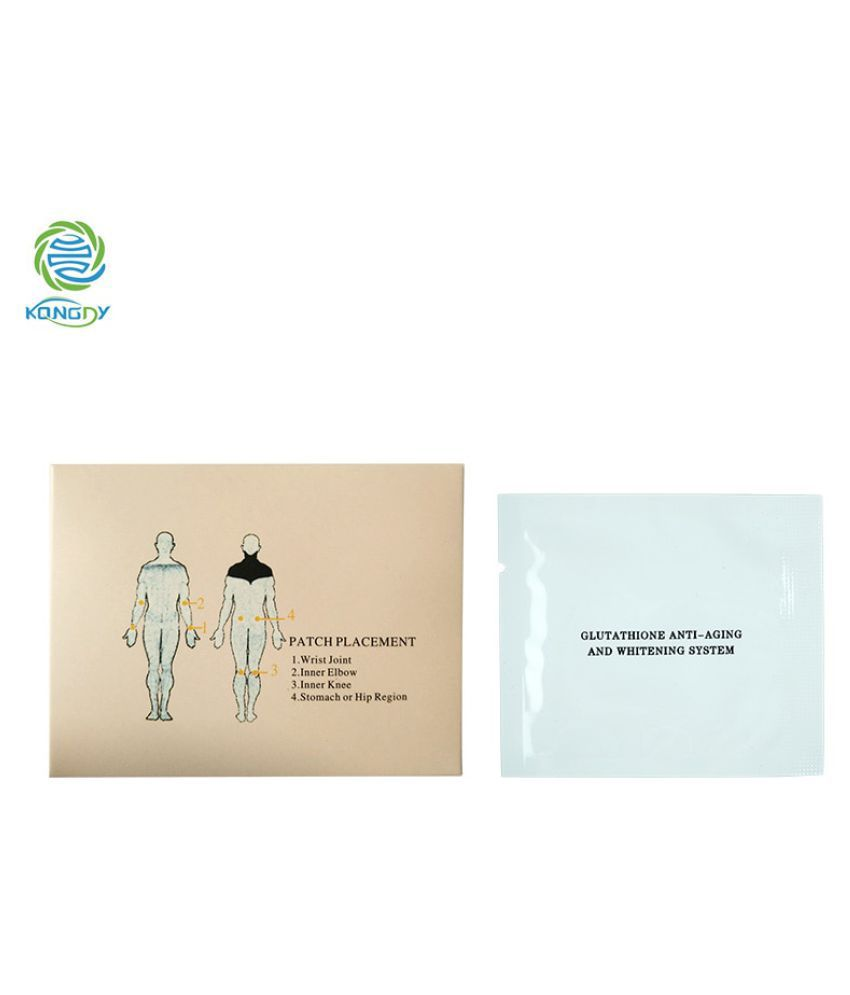 WowObjects 1Pc Beauty Whiten Patch With B 4 Patches Anti-Aging Reduce Dark Plaster Face Care Mask To Face Skin Care Whitening
