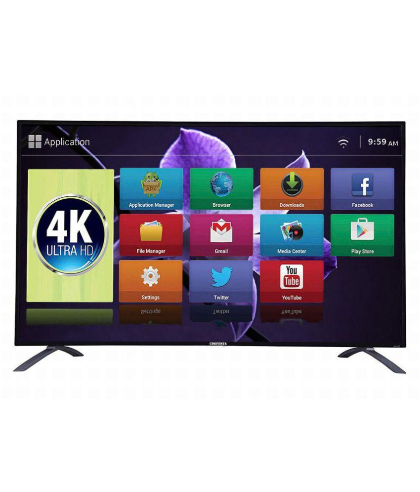 Cinevista CINEVISTA 50 SMART 127 cm ( 50 ) Smart Ultra HD (4K) LED Television