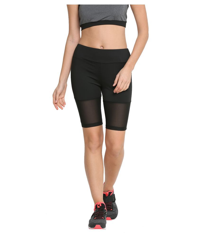 CHKOKKO Gym Sports Stretchable Yoga Mesh Shorts for Women Gym Wear Women/Tight Women/Yoga Dress