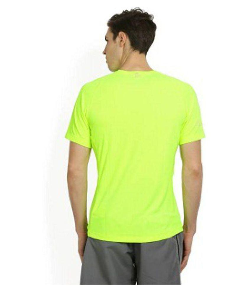 9d61c3a1364c7f Nike Light Green Cotton Lycra T-Shirt - Buy Nike Light Green Cotton ...