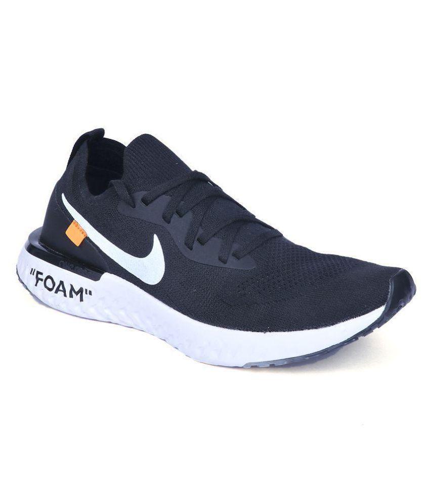 Nike UA Foam Running Shoes Black: Buy